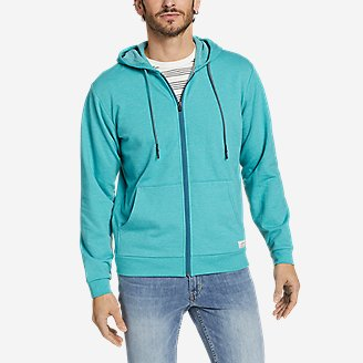 Men's Camp Fleece Full-Zip Hoodie in Green