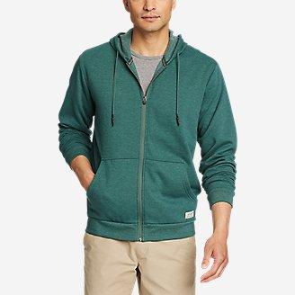 Men's Camp Fleece Full-Zip Hoodie in Green