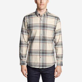 Men's Eddie's Favorite Flannel Relaxed Fit Shirt - Plaid in Beige