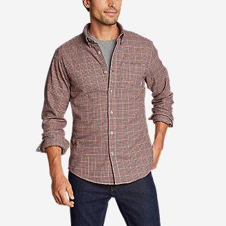 Men's Eddie's Favorite Flannel Shirt - Slim in Brown