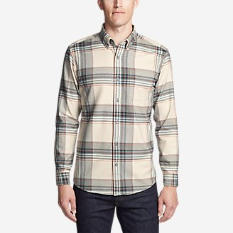 Men's Eddie's Favorite Flannel Shirt - Slim in Beige
