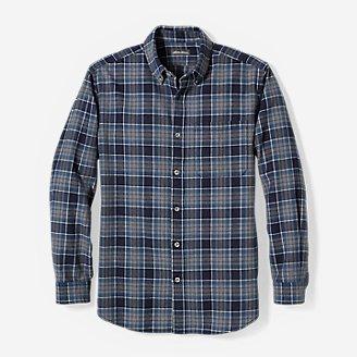 Men's Eddie's Favorite Flannel Shirt - Slim in Blue