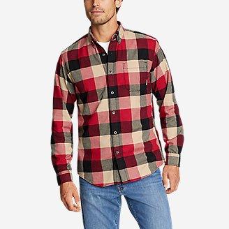 Men's Eddie's Favorite Flannel Shirt - Slim in White