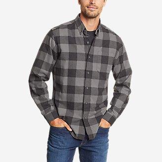 Men's Eddie's Favorite Flannel Shirt - Slim in Gray