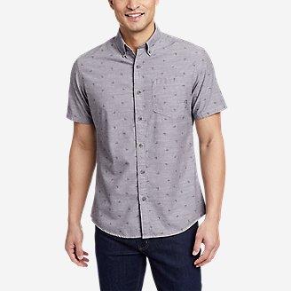 Men's Grifton Short-Sleeve Shirt - Print in Gray