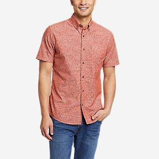 Men's Grifton Short-Sleeve Shirt - Print in Red