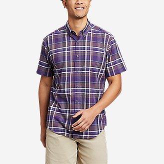 Men's Baja Short-Sleeve Shirt - Print in Purple