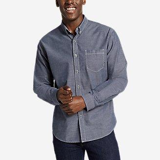 Men's Grifton Long-Sleeve Shirt - Solid in Blue
