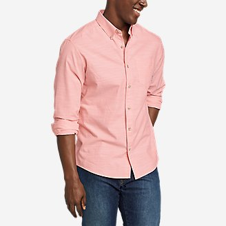 Men's Grifton Long-Sleeve Shirt - Solid in Green