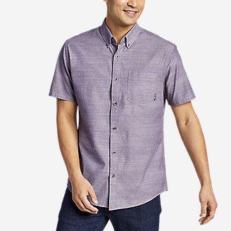 Men's Grifton Short-Sleeve Shirt - Solid in Purple