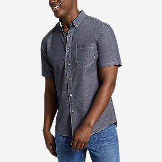 Men's Grifton Short-Sleeve Shirt - Solid in Blue