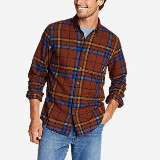 Men's Wild River Lightweight Flannel Shirt in Brown