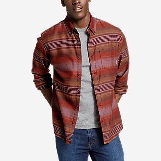 Men's Wild River Lightweight Flannel Shirt in Red