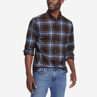 Men's Eddie's Favorite Flannel Classic Fit Shirt - Plaid in Brown