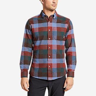 Men's Eddie's Favorite Flannel Classic Fit Shirt - Plaid in Purple