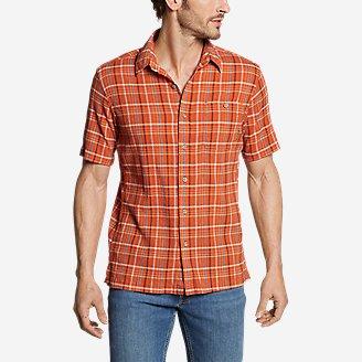 Men's Breezeway Short-Sleeve Shirt in Orange