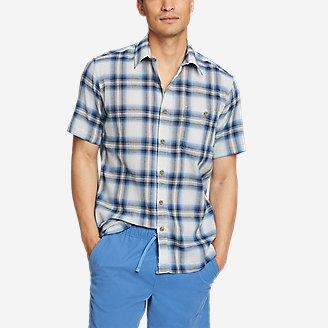 Men's Breezeway Short-Sleeve Shirt in Blue