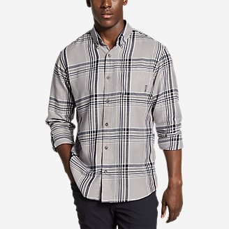 Men's Wild River 2.0 Lightweight Flannel Shirt in Gray