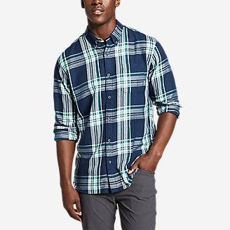 Men's Wild River 2.0 Lightweight Flannel Shirt in Blue