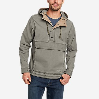 Men's Top Out Ripstop Anorak in Green