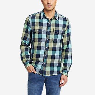 Men's Rancher Long-Sleeve Shirt in Blue