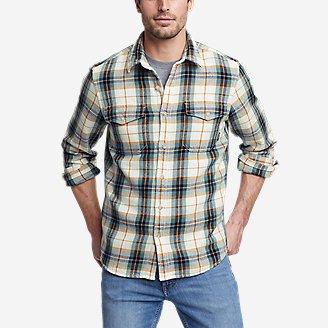 Men's Rancher Long-Sleeve Shirt in Green