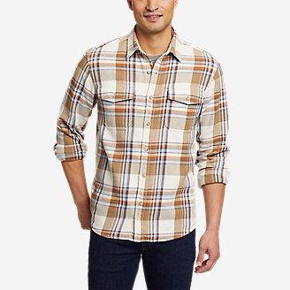 Men's Rancher Long-Sleeve Shirt in Beige