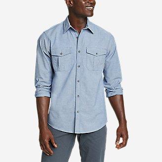 Men's Eddie's Flex Oxford Shirt in Blue