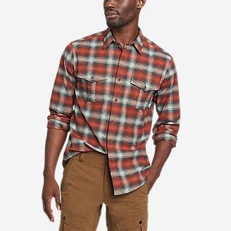 Men's Eddie's Flex Oxford Shirt in Red