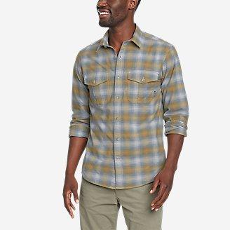 Men's Eddie's Flex Oxford Shirt in Green