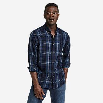 Men's Alight Flannel Shirt in Blue