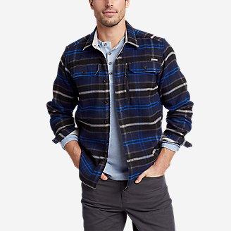 Men's Chopper Heavyweight Flannel Shirt in Blue