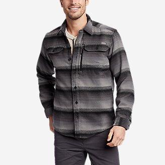 Men's Chopper Heavyweight Flannel Shirt in Gray