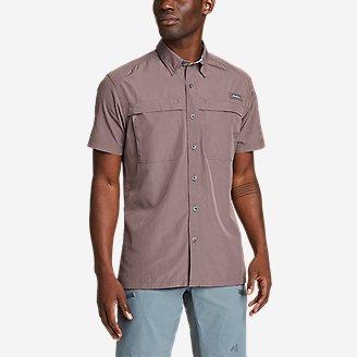 Men's Guide Short-Sleeve Shirt in Purple