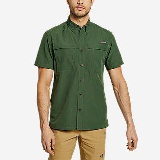Men's Guide Short-Sleeve Shirt in Green