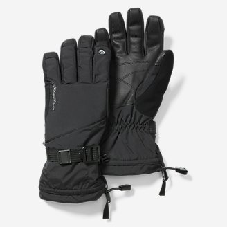 Women's Powder Search Touch-Screen Gloves in Black
