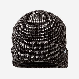 Men's Mini-Stripe Beanie in Gray