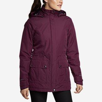 Women's Rainfoil Fleece-Lined Parka in Purple