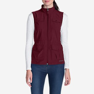 Women's Atlas 2.0 Vest in Red