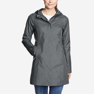 Women's Mackenzie Trench Coat in Gray