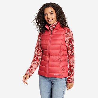 Women's CirrusLite Down Vest in Red