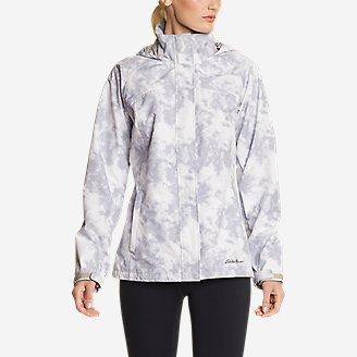 Women's Rainfoil Packable Jacket in Beige