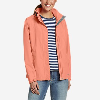 Women's Rainfoil Packable Jacket in Green