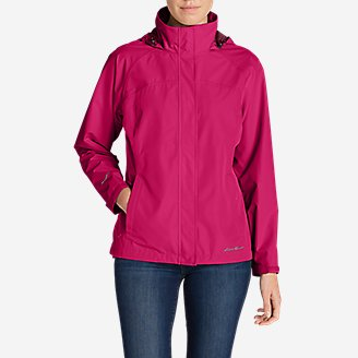 Women's Rainfoil Packable Jacket in Pink