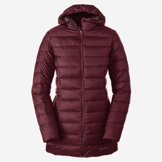 Women's CirrusLite Down Parka in Red
