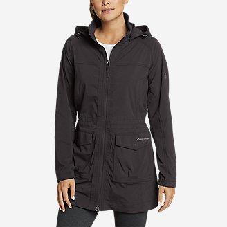 Women's Atlas 2.0 Trench Coat in Black