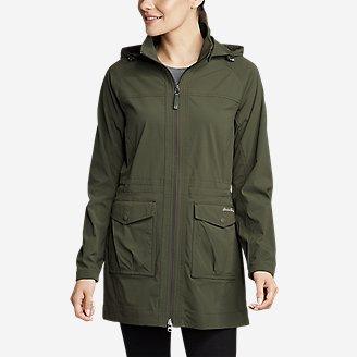 Women's Atlas 2.0 Trench Coat in Green