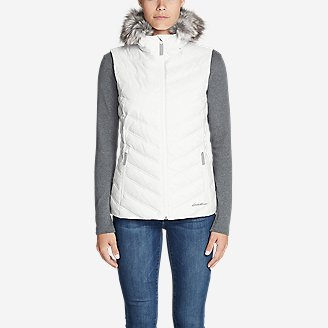 Women's Slate Mountain 2.0 Down Vest in White