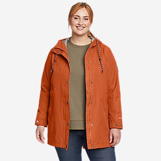 Women's Charly Parka in Orange