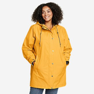 Women's Charly Parka in Yellow